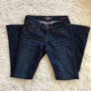 Lucky Brand Jeans - Dark LUCKY BRAND JEANS Charlie flare 0/25